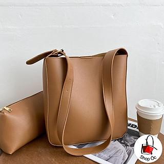 (HOT) Túi đeo vai tote chất da style hàn quốc kèm túi nhỏ E331 ( mua 1 được 2)