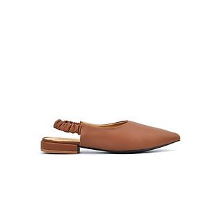 Giày búp bê nữ da mềm Slingback CỰC XINH PABNO PN10002