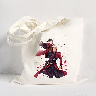 Túi Vải Đeo Vai Tote Bag In Hình Anime Cô Gái Dễ Thương - Mẫu016