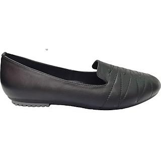 Giày bệt mũi tròn, quai may zic zac BAL-2001