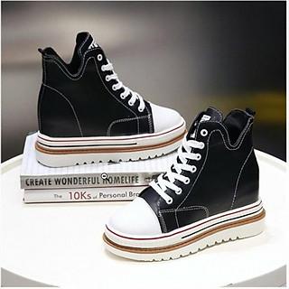 Giày bánh mì da đế độn phong cách hàn quốc BM086