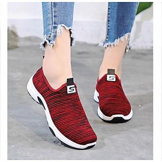 Giày Lười Thể Thao Nữ 3Fashion Vải Mềm Nhẹ Cực Kỳ Êm Chân - 3162