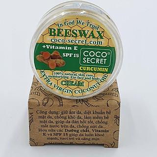 Kem dưỡng ẩm Dầu dừa Sáp ong Tinh bột nghệ Coco Secret