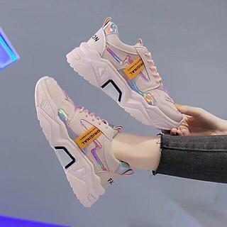 Giày Thể Thao Nam Nữ Or Siêu Hot Kèm Tất/Vớ Da Chân-SB001-giày sneaker nữ độn đế mẫu mới-Đế 5,5cm siêu nhẹ, siêu êm chân