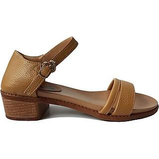 Giày Sandal Cao Gót BIGGBEN Da Bò Thật SDCG43