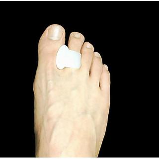 Sét 2 dụng cụ chia tách ngón chân chống chồng chéo PKG39 silicon mềm
