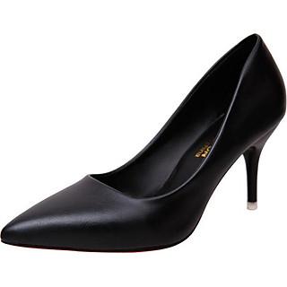 Giày cao gót nữ basic 7 phân da bò GCG03