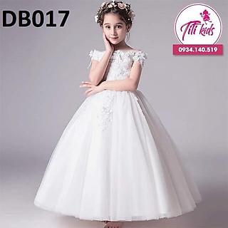 Đầm công chúaFreeshipTặng cài nơ Đầm công chúa bé gái cao cấp sang trọng - Đầm bé gái cao cấp Titikids 2020