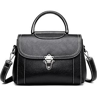 Túi đeo chéo và đeo vai nữ thời trang công sở 6019 đen