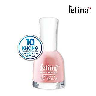Sơn móng tay Felina 18ml CN106 Hồng Hoa Trà