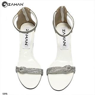 Sandal nữ 7 cm, dây đá cuộn SD15