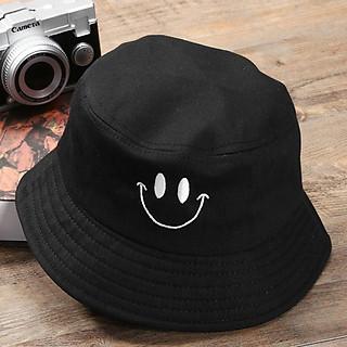 Nón bucket mặt cười Unisex siêu dễ thương, mang phong cách vui vẻ mới - Hạnh Dương