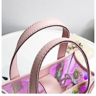 Túi xách hologram GOT7 đầy màu sắc