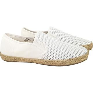 Giày Lười Vải Nữ Cox Shoes 831 - White