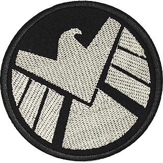 Patch ủi sticker vải - Chim ưng SHIELD