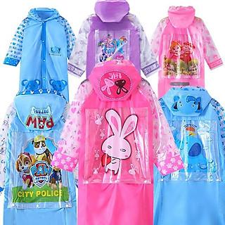 Áo mưa cho bé (chỉ áo), áo mưa trẻ em, áo mưa cho bé đi học