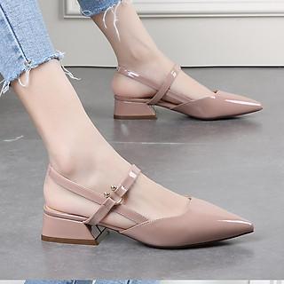 Giày gót kiểu cao 4cm - CG203