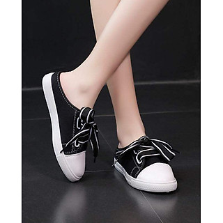 Giày Sục Sneaker Thể Thao Nữ Vải Mềm Stye Hàn Quốc Cực Xinh 3Fashion - 3181