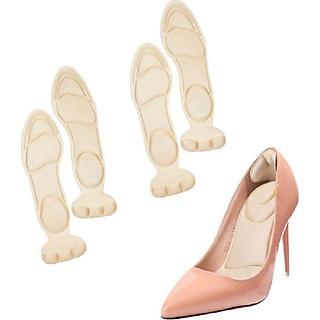 2 cặp miếng lót giày cao gót cho giày bị rộng, giúp giảm size cao cấp siêu êm