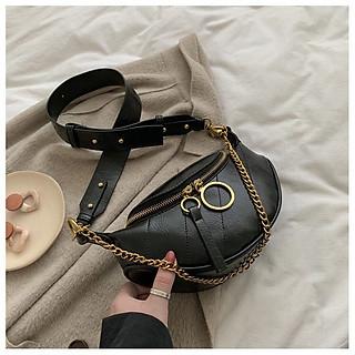 Túi đeo chéo/Túi bao tử nữ thời trang cao cấp, thiết kế độc, lạ, cá tính hot trend 2020-2021