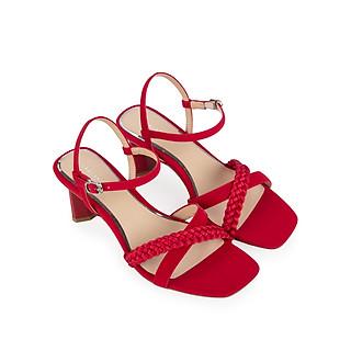 Giày sandal cao gót Sablanca quai đan chéo cao 6cm 5050SN0134