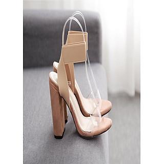 Giày sandanl cao gót trụ 9p cực đẹp
