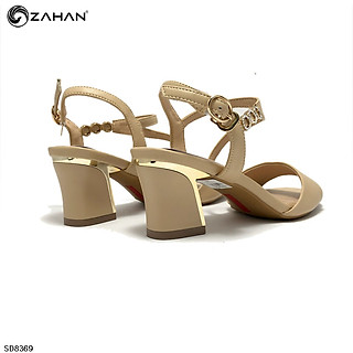 Sandal quai chéo cổ 5 cm SD8369