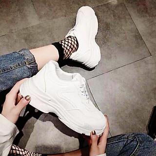 Giày thể thao full trắng Hàn Quốc