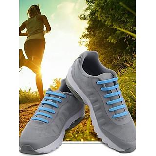 Dây giày cao su đàn hồi thông minh bền Goodmice 16 dây