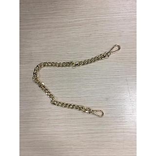 dây xích kim loại, quai túi xách, dây túi 2 loại ngắn40cm và dài 120cm