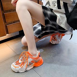 Giày Thể Thao Nữ đế sơn hai dây phong cách thời trang