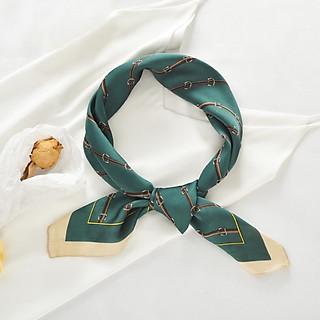 Khăn turban lụa vuông size 70*70cm - Mã 7066