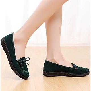Giày lười nữ đi cực êm chân V222