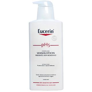 Sữa Tắm cho Da Nhạy Cảm Eucerin pH5 for Body & Face WashLotion (400 ml) (Không Mùi)