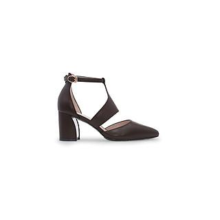 Giày sandal cao gót quai mảnh thương hiệu PABNO PN621