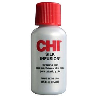 Tinh dầu bóng tóc CHI Infusion Silk 15ml chính hãng Mỹ