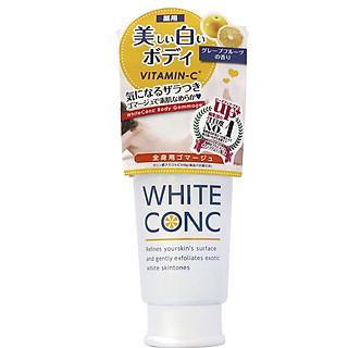 TẨY TẾ BÀO CHẾT TRẮNG DA TOÀN THÂN WHITE CONC BODY GC II 180G