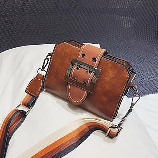 Túi đeo chéo nữ nhỏ xinh dây đeo vải màu sắc phong cách Hàn Quốc - RiBi Shop