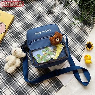 Túi vải Tote Túi Đeo Chéo Hàn Quốc dễ thương