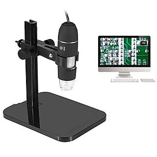 Kính hiển vi điện tử cắm cổng USB kết nối với PC độ phóng đại 1000 lần có giá đỡ