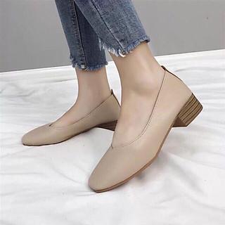 C3 - Giày nữ, giày búp bê đế 3cm