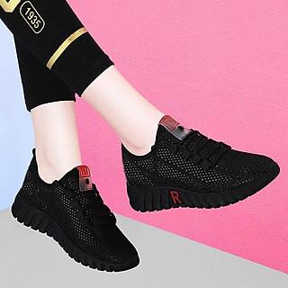 Giày sneaker thể thao nữ buộc dây siêu nhẹ thời trang 254