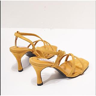 Giày cao gót nữ đan dây B01