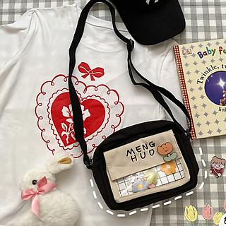 Túi chéo nữ thời trang cute (EP33), túi đeo chéo nữ mini đựng đồ cá nhân, đi chơi dạo phố