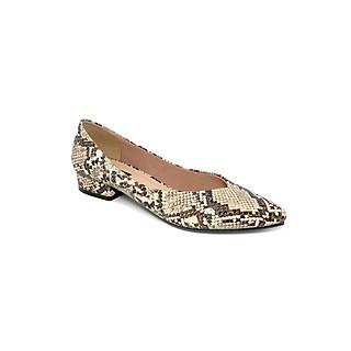 Giày Bít Công Sở Gót Vuông 2cm Sulily màu xám