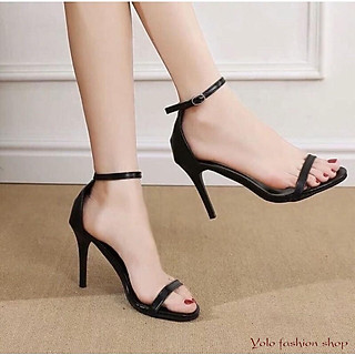 Sandal nữ quai mảnh đế 7cm thời trang dáng basic S75