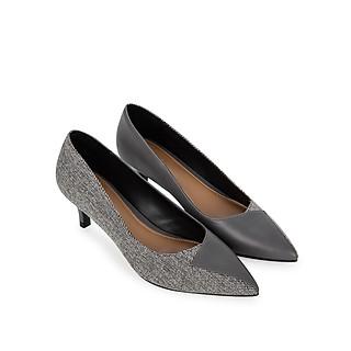 Giày cao gót Sablanca mũi nhọn phối vải cao 6cm 5050BN0141