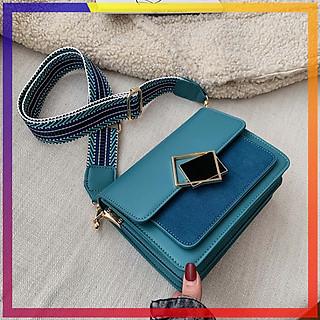 Túi đeo chéo đi chơi nhỏ gọn hợp thời trang, túi đeo chéo da PU chất lượng, có nhiều ngăn để đựng điện thoại và các vật dụng cần thiết
