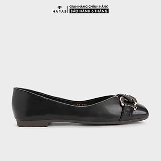 Giày Bệt Nữ Khoá Xích Mũi Vuông HAPAS - GBB146