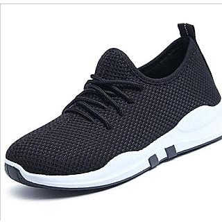 Giày Sneaker Nữ Và Nam (Giày Cặp Đôi) Đế Siêu Êm (Đen Đế Trắng) GT 2